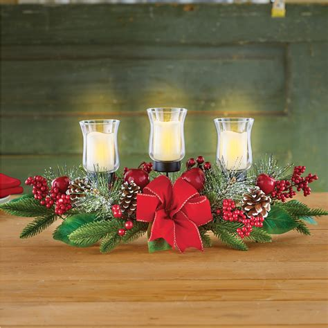 dining table centerpiece in Candle Holders and Candle