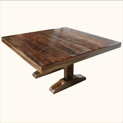 dining table square pedestal eBay