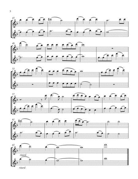 Do You Hear What I Hear Arranged For Flute Duet  music sheet