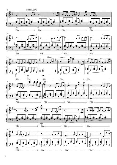 Doa Yabes  music sheet