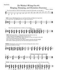 Dr Walshes Wring Out Handbell Warmup  music sheet
