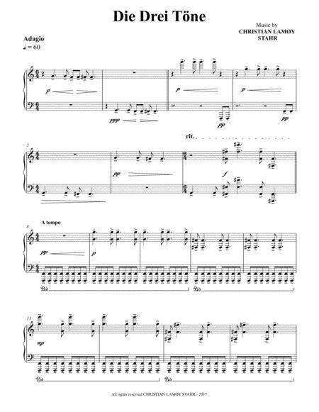 Drei Romanzen Nr 1 Andante Molto  music sheet