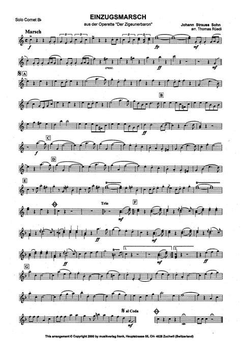 Einzugsmarsch  music sheet