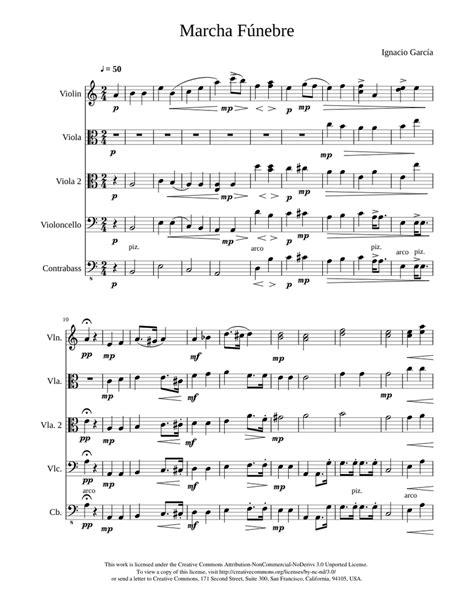 El Nazareno Marcha Fnebre The Nazarene Funeral March  music sheet