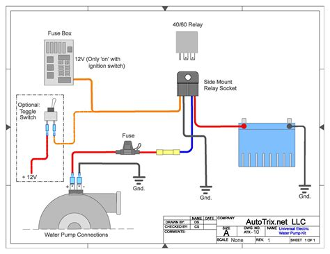 free download ebooks Electric Water Pump Relay Wiring Diagram