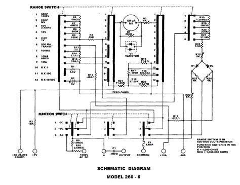 free download ebooks Electrical Wiring Diagrams For A Simpson 260 Multimeter