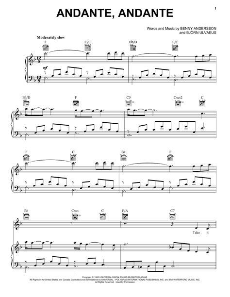 Fernando From Mamma Mia Here We Go Again  music sheet