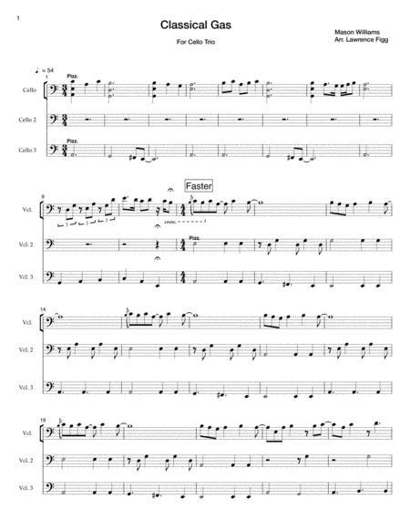 Five Popular Classical And Romantic Melodies Arranged For Advanced Classical Solo Guitar  music sheet