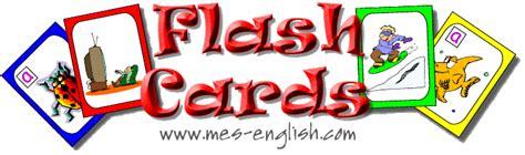flashcards MES English