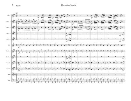 Florentiner March Grand Italian March Opus 214  music sheet