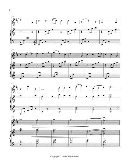 Flow Gently Sweet Afton Arranged For Harp And Clarinet  music sheet