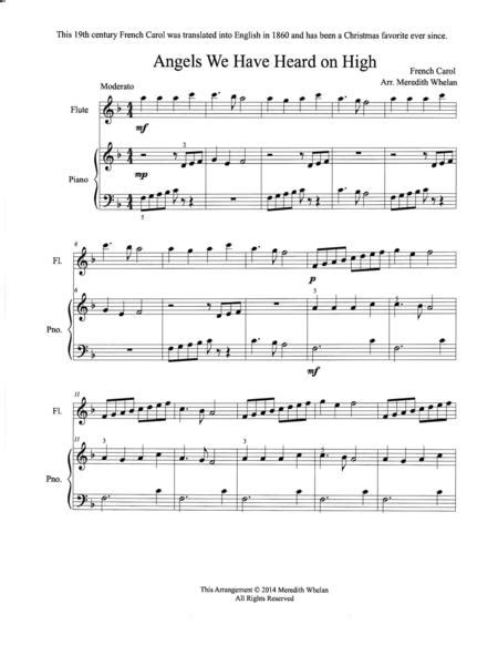 Flute Duets For Christmas Vol Ii  music sheet