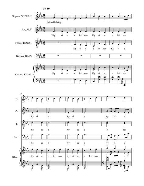 Fmoll  music sheet