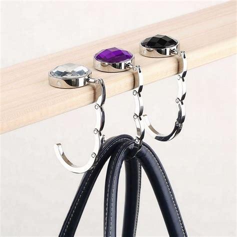 foldable bag table hanger Purse Angels Handbag Hooks