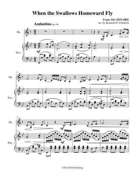 Folk Songs For Young Folks Vol 2 Horn And Piano  music sheet