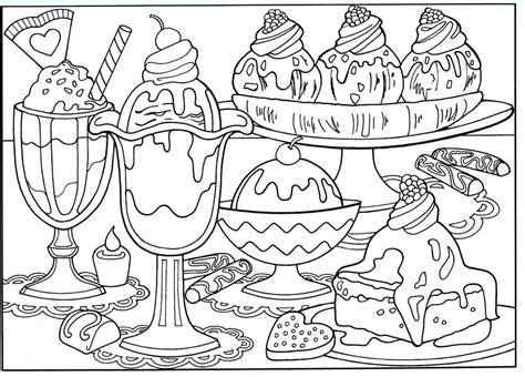 food Coloring Pages ColoringBookFun
