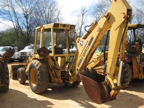 ford 555b loader backhoe transmission problem SSB Tractor