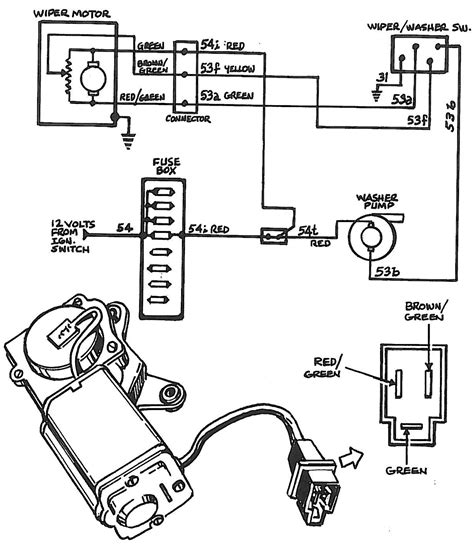 free download ebooks Ford Windshield Wiper Motor Wiring Diagram 66 77 Early