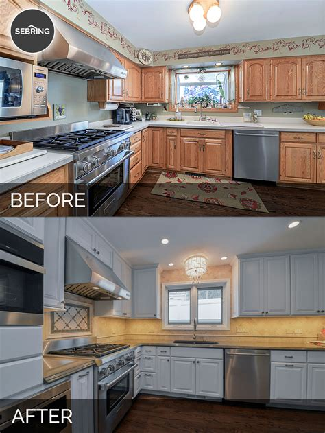 from the nato s kitchen renovation before and after