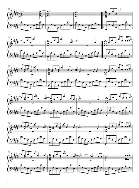 Futility  music sheet