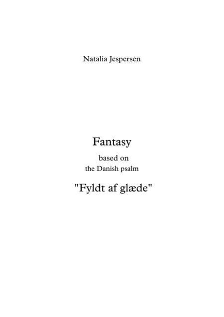 Fyldt Af Glde Fantasy  music sheet
