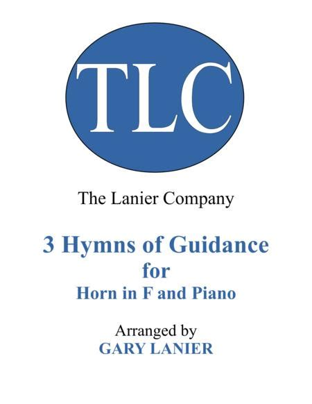 Gary Lanier 3 Hymns Of Guidance Duets For Horn In F Piano  music sheet