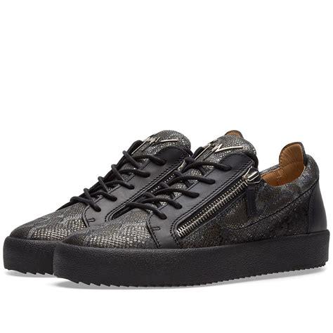 free download ebooks Giuseppe Zanotti Python Low Top Sneaker Metallic Zip P 232