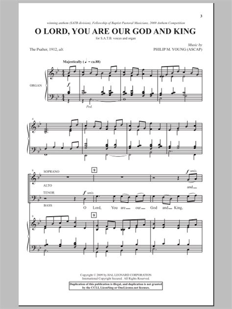 God Our Lord A King Remaining  music sheet