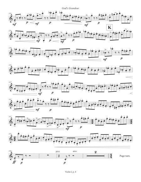 Gods Grandeur 2012 Rev 2019 Double Bass Part  music sheet