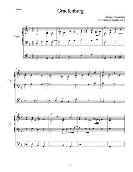 Graefenburg Lord Jesus As We Turn From Sin Alternate Harmonization  music sheet