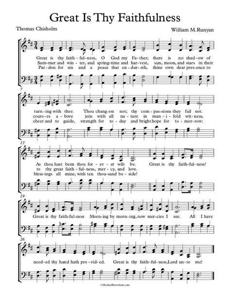 Great Is Thy Faithfulness Accompaniment Track Key Of Eb  music sheet