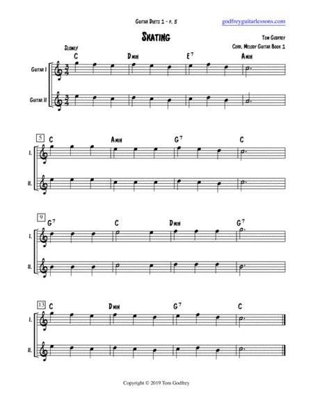 Guitar Duets 1  music sheet