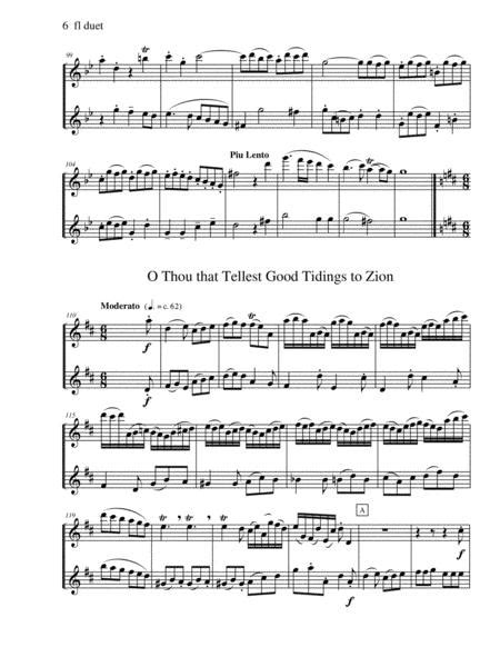 Handels Messiah Selections For Clarinet And Bassoon Duet  music sheet