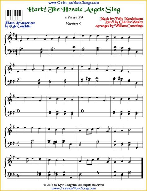 Hark The Herald Angels Sing Orchestra  music sheet