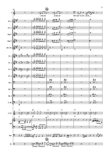 Here Comes The Big Parade  music sheet