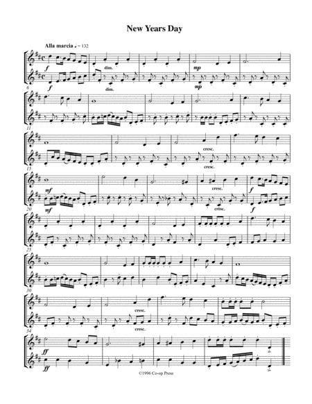 Holiday Etudes Duets Bb Book  music sheet