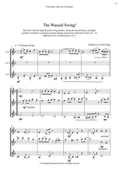 Holiday Spirit Score And Parts  music sheet