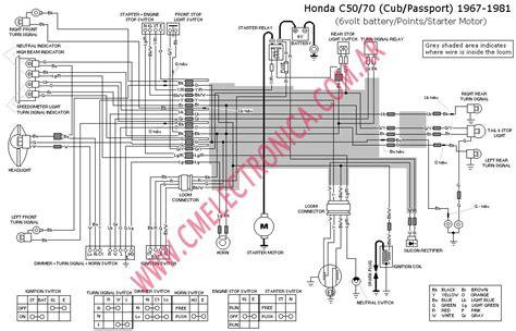 free download ebooks Honda C70 Passport Motorcycle Wiring Harness Diagram