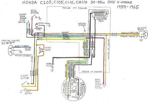free download ebooks Honda C90 Wiring Diagram 6v