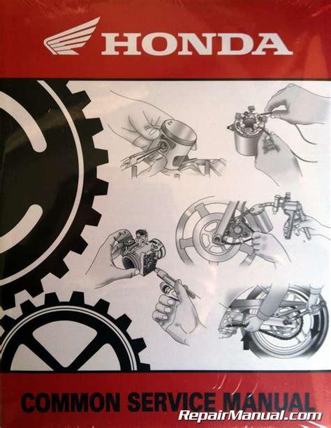 free download ebooks Honda Common Service Manual German.pdf