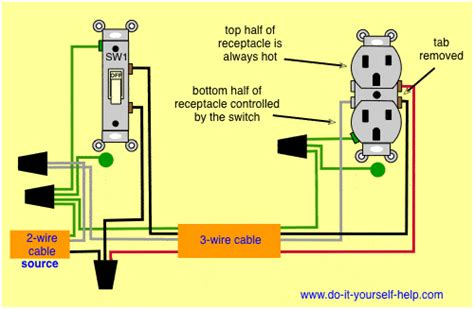 how to wire two light switches and one outlet images way connects wiring a switched outlet wiring diagram electrical online