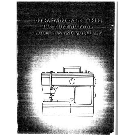 free download ebooks Husky 165 Sewing Machine Manual.pdf