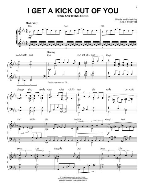 I Get A Kick Out Of You Trumpet And Piano  music sheet