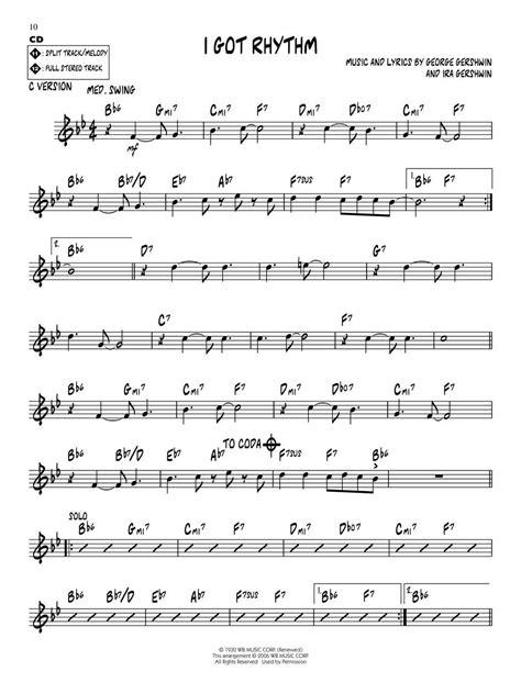 I Got Rhythm Jazz Combo  music sheet