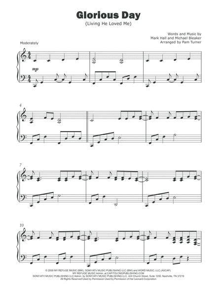 I Love Me Intermediate Piano Solo  music sheet