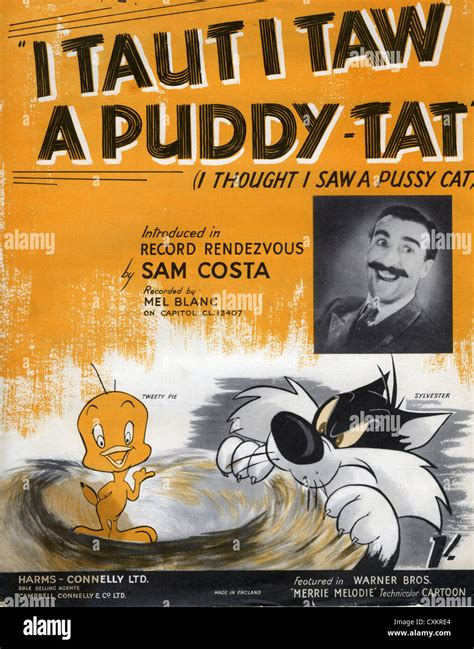 I Tawt I Taw A Puddy Tat  music sheet