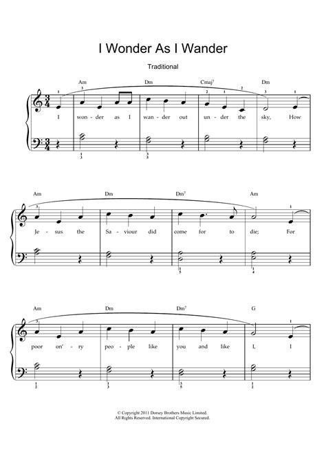 I Wonder As I Wander For Vocal Trio Sab  music sheet
