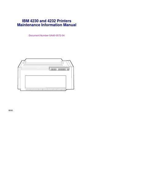 free download ebooks Ibm 4230 User Manual.pdf