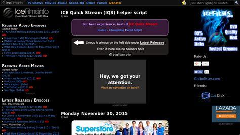 iceFilms info