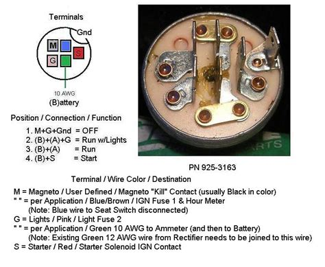 free download ebooks Ignition Switch 3497644 6 Post Wiring Diagram